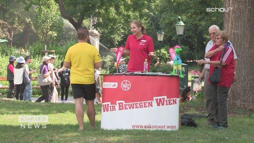 Kostenlose Sportkurse in Parks österreichweit