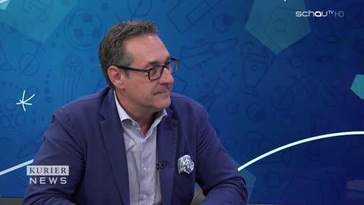 """Sportminister Strache: """"Messi ist mir lieber als Ronaldo"""""""
