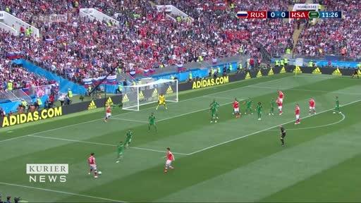 WM-Highlights: Russland 5:0 Saudi-Arabien