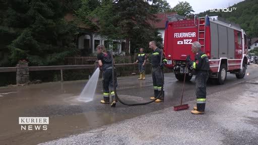 Feuerwehren im Unwettereinsatz